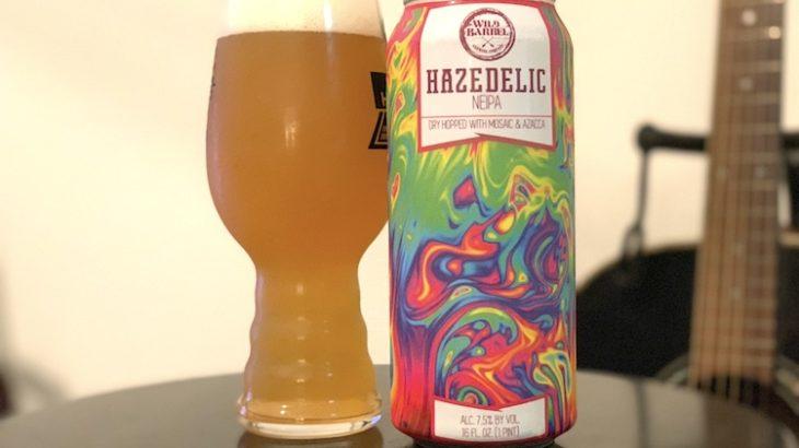 【1日1ビア】Wild Barrel Brewing(ワイルド バレル ブルーイング)「Hazedelic」を飲んだ