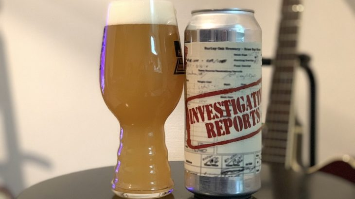 【1日1ビア】Burley Oak「Investigative Reports(インベスティゲイティブ リポーツ)」を飲んだ